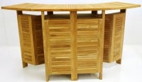 Teak Furniture Gallery - Folding Bar (TFB)