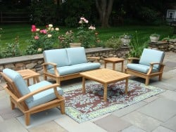 Teak Furniture Gallery - Lido Loveseat Set (LD57)
