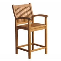 Teak Furniture Gallery - Nantucket Bar Armchair (NBA)