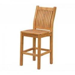 Teak Furniture Gallery - Nantucket Bar Chair (NBC)