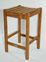 Teak Furniture Gallery - Nantucket Bar Stool (NBS)
