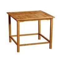 "Teak Furniture Gallery - Square Bar Table 47"" (BT47s)"