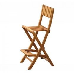 Teak Furniture Gallery - Bar Folding Chair (FBC)