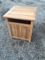 Teak Furniture Gallery - Trash Receptical (TR)