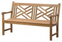 Teak Furniture Gallery - Chippendale Bench 5' (CP5)