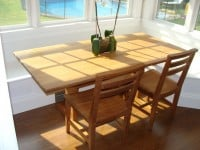 Teak Furniture Gallery - 6' Essex Table (ET72)