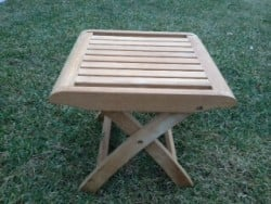 Teak Furniture Gallery - Estate Table/Ottoman (ETO)