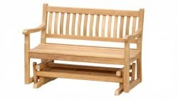 Teak Furniture Gallery - Glider Bench 4' (GD4)