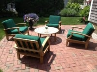 Teak Furniture Gallery - Lido Chair with cushions (LD47)
