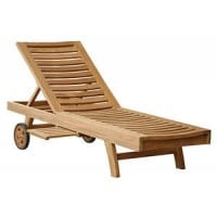 Teak Furniture Gallery - Nantucket Chaise Lounger (NCL)