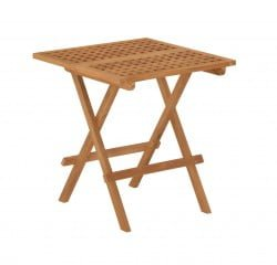 Teak Furniture Gallery - Nautic High Table Square (NHTS)