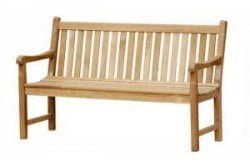 Teak Furniture Gallery - Piccadilly Bench 5' (PB5)