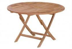 "Teak Furniture Gallery - Round Folding 47"" (RF47)"